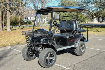 4pr Lifted Golf Cart 5