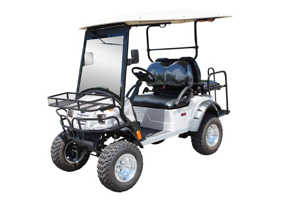 Lifted Bintelli 4pr Street Legal Golf Cart