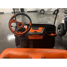 Upgraded Color matched Sentry Dashboard and steering wheel - $399