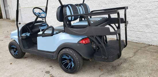 Sky Blue Golf Cart 6